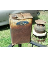 Old FORD TIN CAN for the Ford enthusiast - $25.00