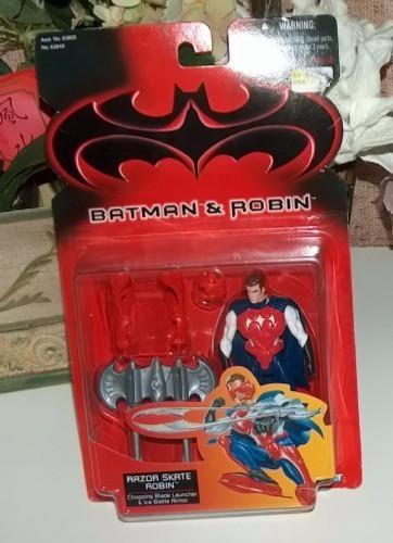 Batman and robin razor skate robin