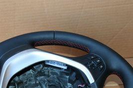 12-18 BMW F30 Sport Steering Wheel w/ Cruise BT Volume W/O Paddles -RED STITCH image 6