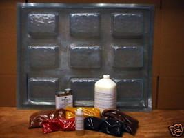 DIY Driveway Paver Kit w/12 Molds & Supplies Make 100s of #972 Pavers, FAST SHIP image 1
