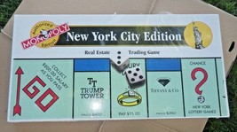 New York City Edition Monopoly Game Authorized Edition Never Played NYC - $163.61