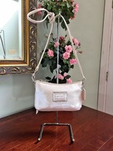 Coach Crossbody Bag Sweetheart Disco Sequin Poppy White Opalescent  44925  B01 image 2