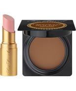 Too Faced Kiss & Makeup - Deluxe Nude Beach Lipstick & Deluxe Medium/Dee... - $24.99