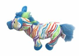 """Ganz Zebra Rainbow Webkinz Stuffed Plush Toy HM486 10"""" - $24.74"""