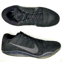 Nike Kobe XI 11 Elite Low Black Space Basketball Shoes Mens Size 16 Athl... - $130.89