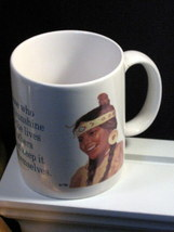 Leanin Tree Native American Indian Maiden Mug MGW 39 Western Dinnerware - $10.99