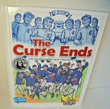 Brand New The Curse Ends: The Story Of The 2016 Chicago Cubs Childrens Book - $15.81