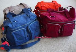 New w Tag Kipling Erasto S Shoulder Bag Birch - $59.95