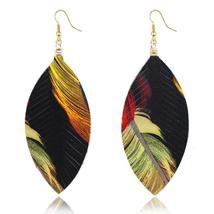 Fiery Leaves Earrings - $14.99