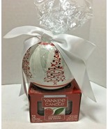 YANKEE CANDLE Tea Lights Cherries on Snow with 12 Tea Lights and Holder - $14.99