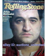 RS 21 Jan 1982 John Belushi Kenneth Lipper Max Scherr - $12.86