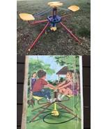Vintage 1969 Kenner Water Go Round Merry Backyard Hose Ride Toy w Box RA... - $449.95