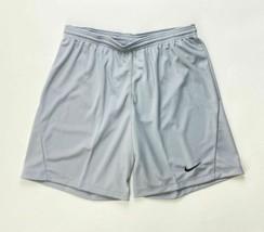 Nike Dry Park III Soccer Game Short Men's Large Grey BV6857 Dri-Fit - $29.69