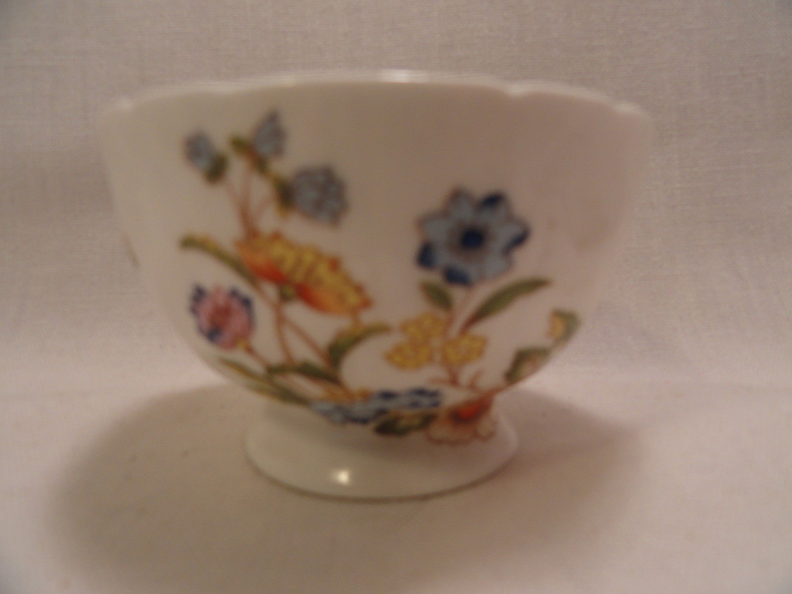 Aynsley Tea Cup English Bone China White Floral Pattern