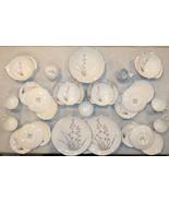 Vintage Royal China Inc. Warrented 22 KT. Platinum Exotic Huge Set 39 pieces - $148.49