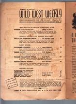 Wild West Weekly 1/3/1942-WESTERN PULP-STREET & Smith P/FR - $24.83