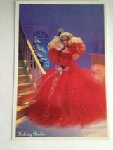Barbie VTG Postcard Barbie Doll Collector Christmas Gift Holiday 1989  Z38 - $11.63