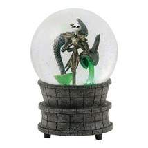 "The Nightmare Before Christmas Jack in the Fountain 6.25"" Water Globe NE... - $62.88"