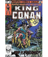 King Conan Comic Book #18, Marvel Comics 1983 NEAR MINT NEW UNREAD - $5.48