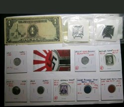 Misc Lot #1 of Coins, Tokens, Medals, World, Plated, and Junk Drawer Misc  - $35.00