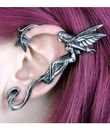 Alchemy Gothic Whispering Fairy Left Earwrap Earring Ear Wrap Faerie E38... - $29.95