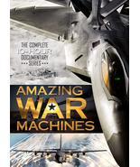 Amazing War Machines, (3 DVD Box Set), 2010, Military History Documentar... - $0.00