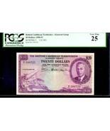 "BRITISH CARIBBEAN TERRITORIES BCT P5 $20 1951 PCGS 25 ""King GEORGE Vth"" - $3,950.00"