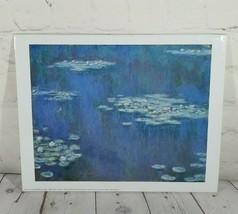 """Claude Monet Nymphéas -1905 - Water Lillies Art Print 9.5 X 12"""" Paris 1999 PF697 - $19.75"""
