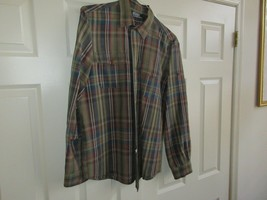 Polo by Ralph Lauren , Men's Long Sleeve Shirt , L , 64% Linen , 36% Silk - $29.95