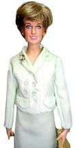 "Franklin Mint Princess Diana 16"" Doll in Custom Mint Green Chanel Suit 1... - $144.95"