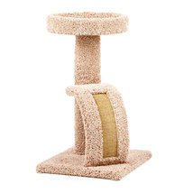 Kitty Tower with Bowed Ramp, New,