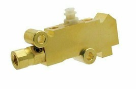 A-Team PB215 - Proportioning Valve, Brass Finish for Disc/Disc Brakes