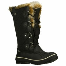 Skechers Women's Tall Quilted Boots Black Size 8.5 #RN759-967 - $84.99