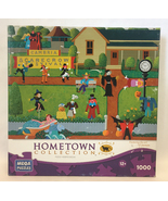Heronim Harry Wysocki puzzle Scarecrow Festival 1000 pc Halloween fall a... - $3.00