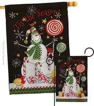 Sweet Snowmen - Impressions Decorative Flags Set S114204-BO - $57.97
