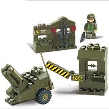 1 Set MILITARY DEPOT BUILDING Army Bricks Building Blocks Toys for Kids - $12.45