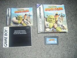 Shrek SuperSlam ( Nintendo Game Boy Advance) SP DS Lite super slam fiona... - $6.78