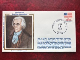 American Revolution Bi-Centennial #33 Declaration Committee - on Coloran... - $3.00