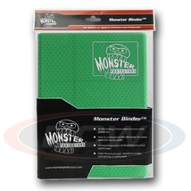 9 POCKET MONSTER PROTECTOR BINDER - HOLOFOIL GREEN - $23.65