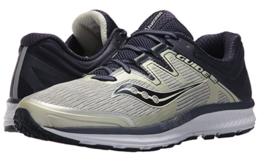 Saucony Guide ISO Size 9 M (D) EU 42.5 Men's Running Shoes Gray Navy S20... - £58.18 GBP