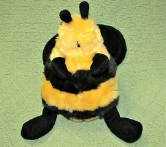 "UNIPAK BUMBLE BEE STUFFED ANIMAL 9"" POT BELLY PLUSH YELLOW BLACK STRIPES... - $19.64"