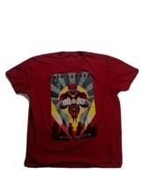 Mighty Morphin Power Rangers Men's XL T Shirt Red Ranger Short Sleeve - $15.35