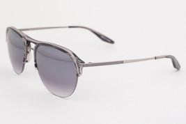 Barton Perreira HEIST Pewter / Gray Mirror Sunglasses GRM PEW SMM - $106.82