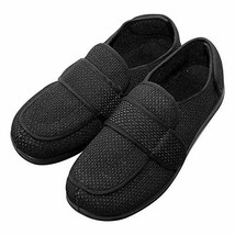 Cozy Ankle Men's Extra Wide Slippers Adjustable Diabetic Footwear for Ar... - $50.53