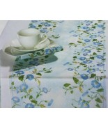 Table Runner Ideal Home Range Morning Glory Translucent Cellulose German... - $14.99