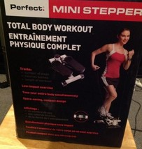"""""""Perfect"""" Mini Stepper Aerobic Exercise Gym Total Body Workout with Bands - $77.35"""