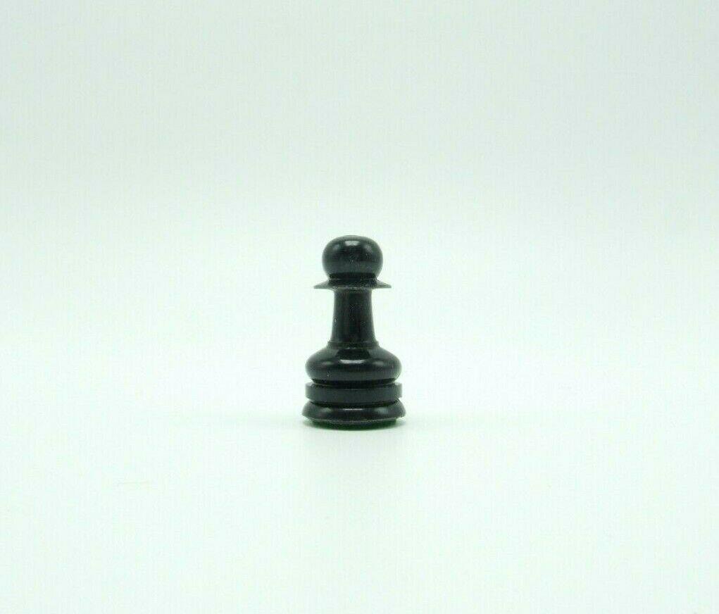 Tournament Chessmen Staunton Replacement Black Pawn Chess Piece No.810 Lowe - $2.99