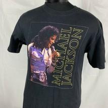 Vintage Michael Jackson T Shirt Medium Y2K Bad Your Album Band King of P... - $29.99