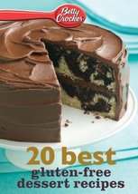 Betty Crocker 20 Best Gluten-Free Dessert Recipes [Paperback] Crocker, B... - $5.80