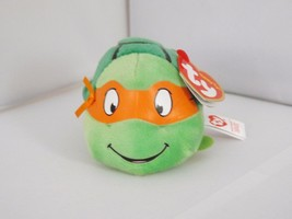 Teeny Ty Mini Soft Plush Stuffed - New - TMNT Michelangelo - $8.54